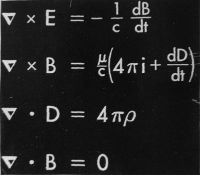 Formules de Maxwell